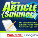 Super Article Spinner 3-in-1 Shuffler, Spinner And Submitter
