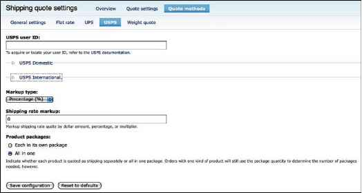 How To Configure Flat Rate Box For Drupal - Drupal Ubercart